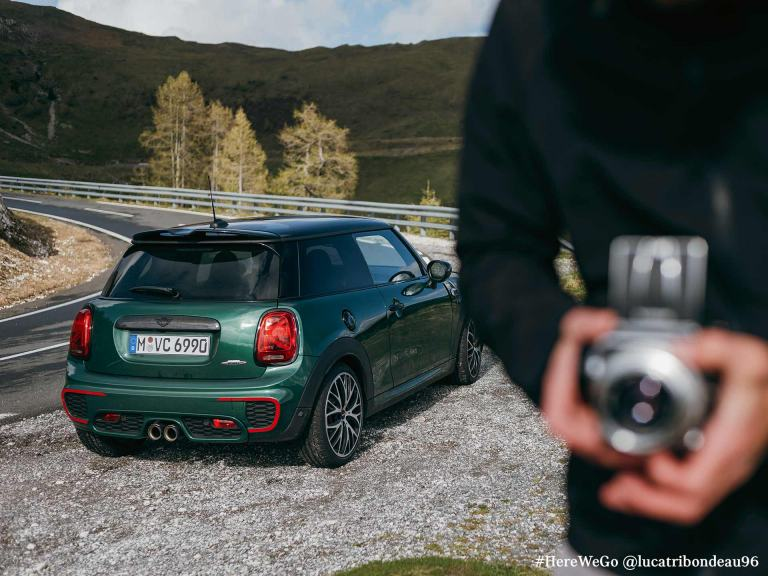 MINI Convertible – grey and black – summer complete wheels