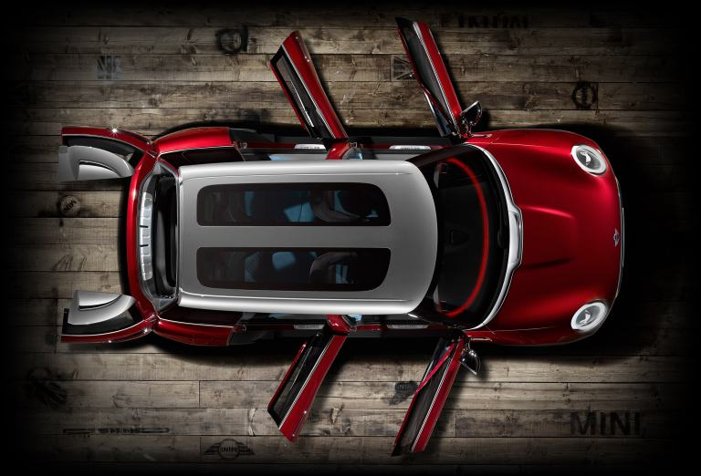 MINI Clubman concept top view