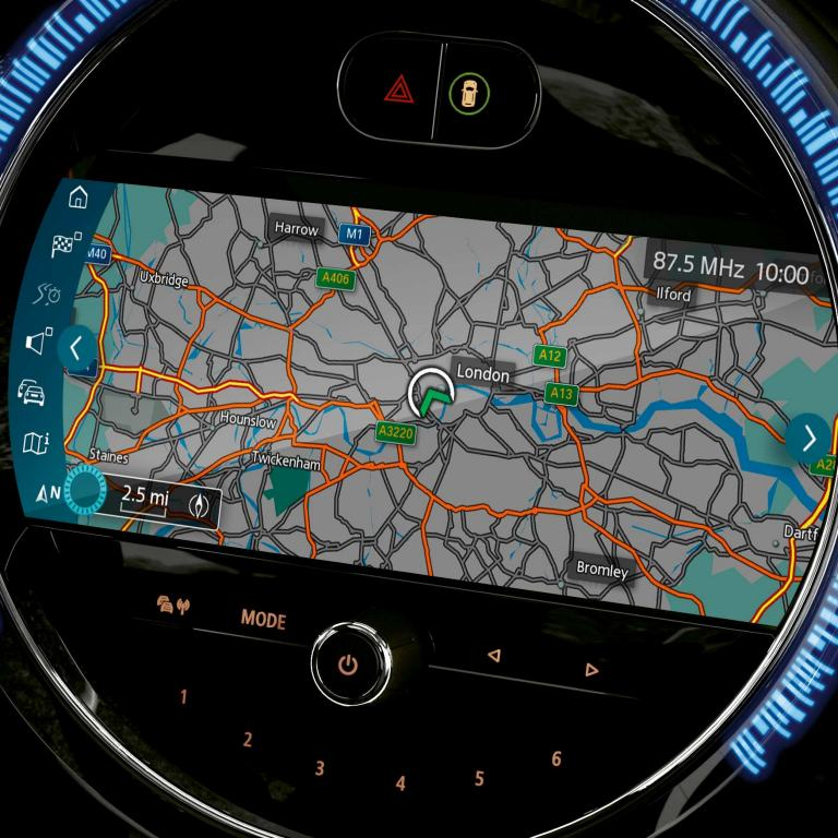 mini connected - navigation system